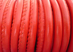 imitation Nappa leather 6mm - Red