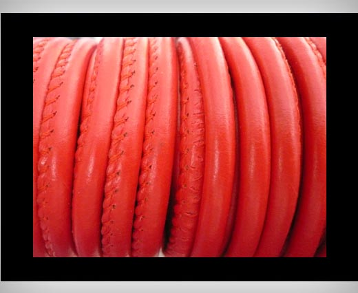 Buy imitation Nappa leather 6mm - Red at wholesale prices