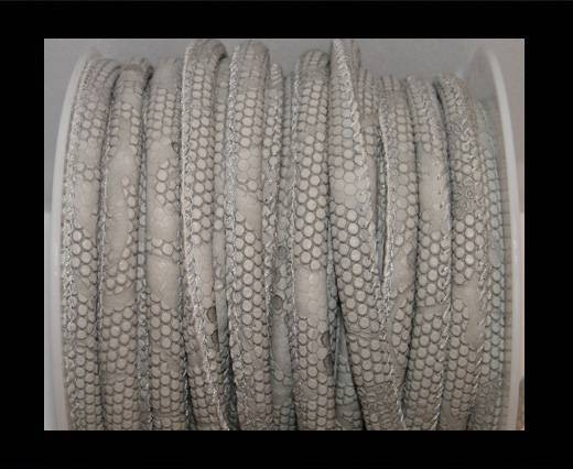 Buy imitation nappa leather 6mm Snake-Dotted-Style - Grey at wholesale prices