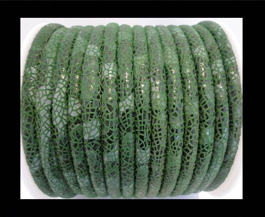 Buy faux nappa leather 6mm Stingray-Fish-Style-Green at wholesale prices
