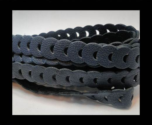Nappa Chain Style- 13mm-Dark Blue