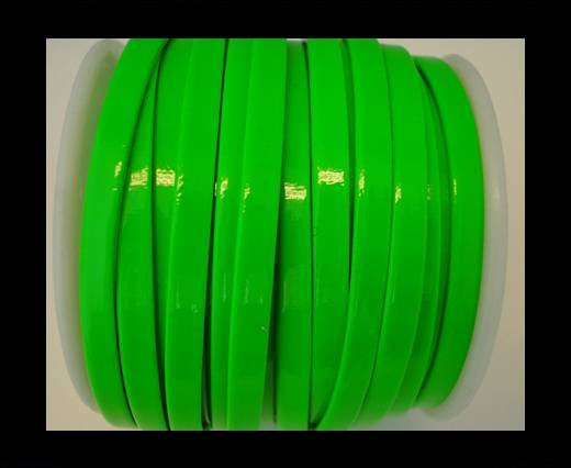Nappa Flat PU -Neon Green-5mm