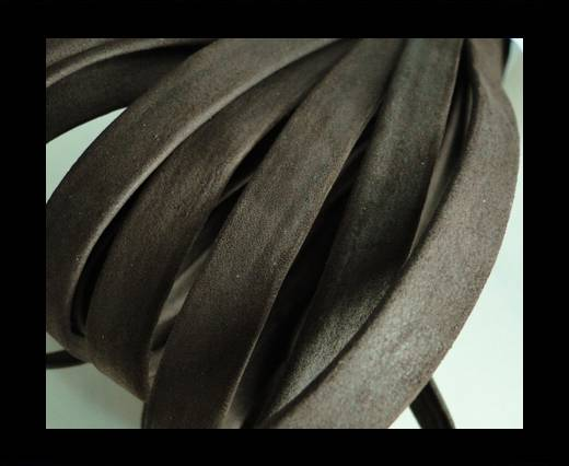 Buy Nappa Leather Flat-Dark Brown-10mm at wholesale prices