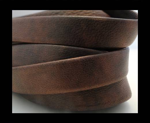 Nappa Leather Flat-Dark Bordeaux-10mm