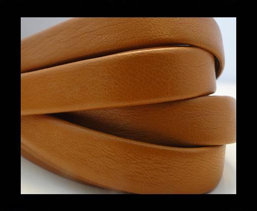 Nappa Leather Flat-Orange-10mm