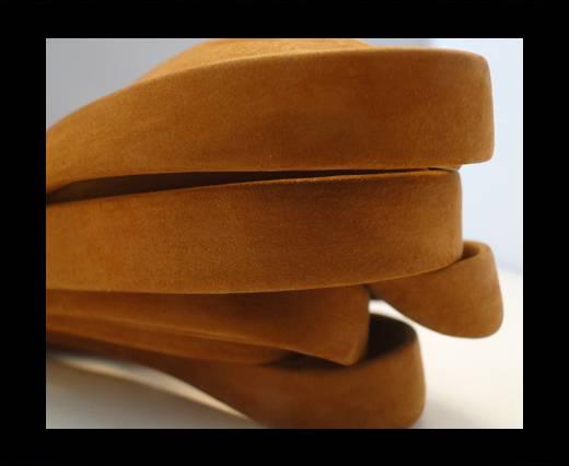 Nappa Leather Flat-Light Orange-10mm