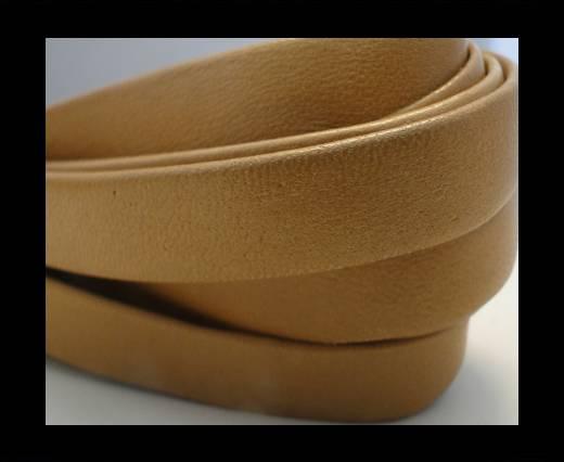 Nappa Leather Flat-Beige-10mm