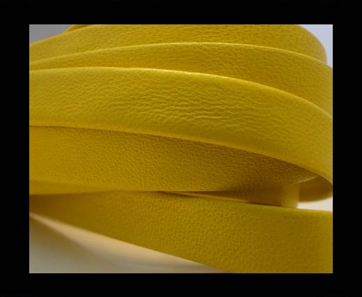 Buy Nappa Leather Flat-Bright Yellow-10mm at wholesale prices