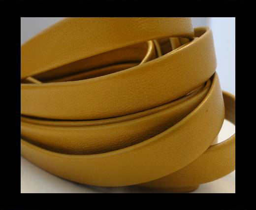 Nappa Leather Flat-Light Yellow-10mm