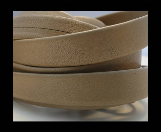 Nappa Leather Flat-Taupe-10mm