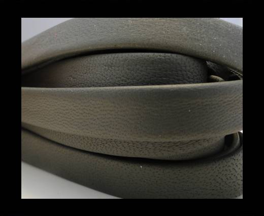 Nappa Leather Flat-Taupe Grey-10mm