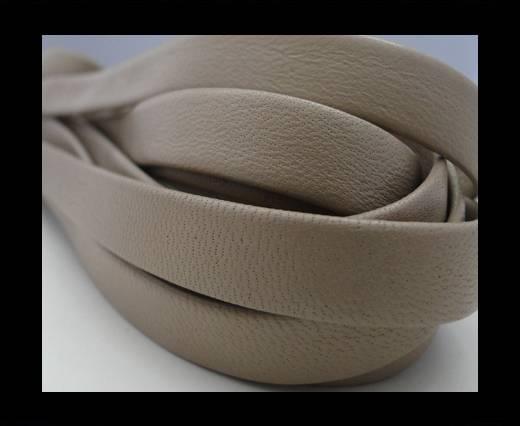 Nappa Leather Flat-Cream-10mm