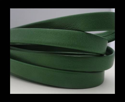 Nappa Leather Flat-Green-10mm