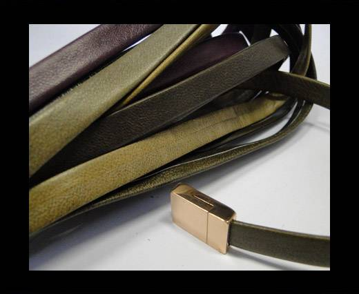 Nappa Leather Flat-Mixed colours 1-10mm