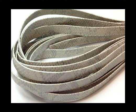 Buy Nappa Leather Flat- Python  Grey-10mm at wholesale prices