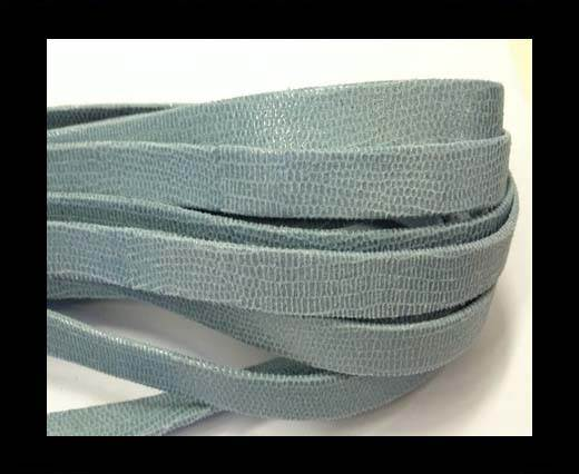 Buy Nappa Leather Flat -10mm-Lizard Light Blue at wholesale prices