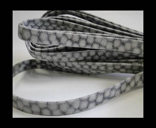 Buy nappa plain style white grey 10 mm at wholesale prices
