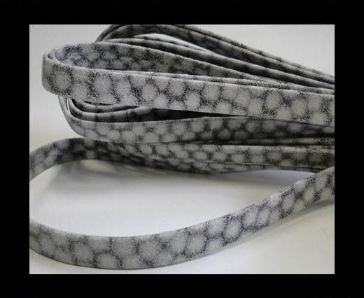 nappa plain style white grey 10 mm