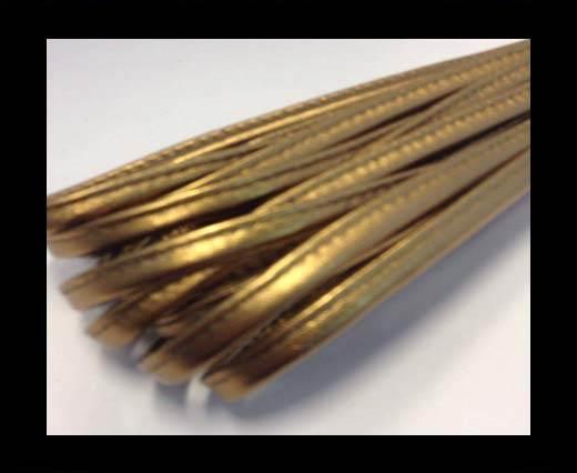 Nappa-Sewn-7mm-Plain Style - Dotted Bronze