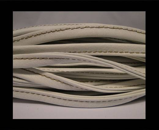 Buy Nappa-Sewn-7mm-White with Yellow at wholesale prices