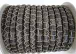 imitation nappa leather 4mm Snake-Patch-Style -Dark Grey