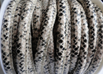 imitation nappa leather 4mm Snake-Style -Natural-Color