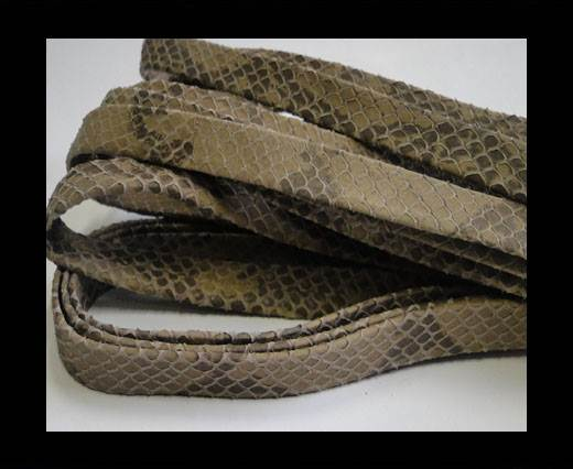 Buy nappa snake style beige 10 mm at wholesale prices