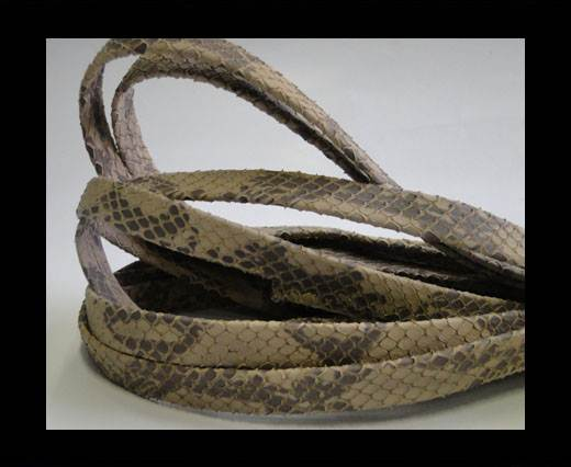 nappa snake style sand 10mm