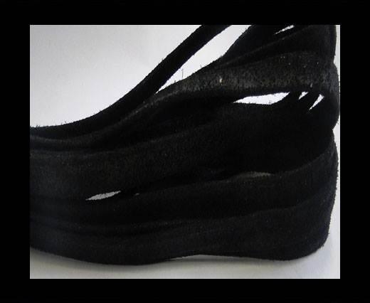 Nappa Suede Black 10 mm