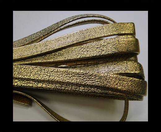 Buy NappaFlat-10mm-plain style gold at wholesale prices