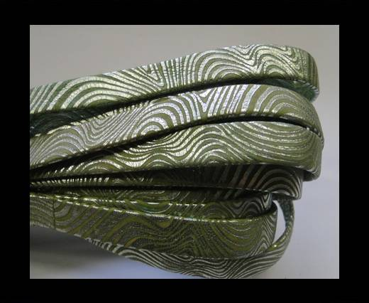 Buy NappaFlat-10mm-snake style green at wholesale prices