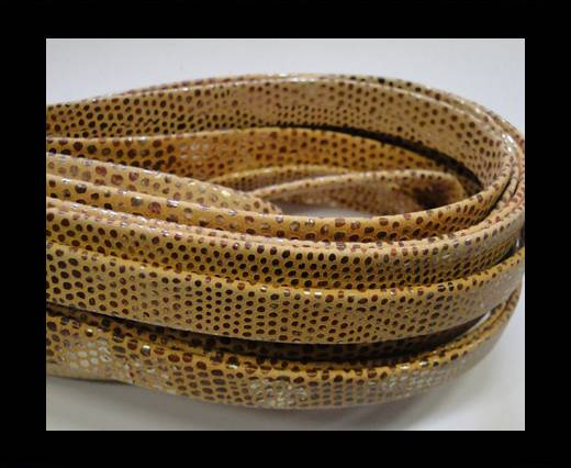 Buy NappaFlat-10mm-snake style orange at wholesale prices