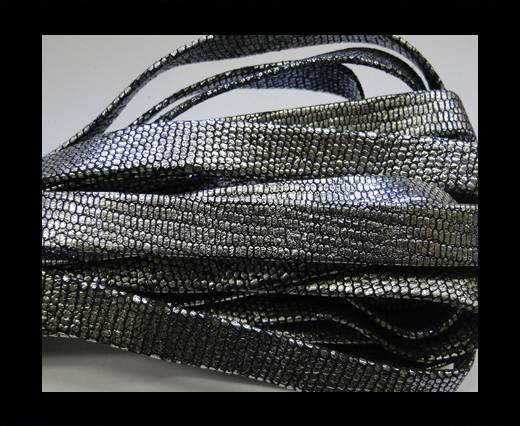Buy NappaFlat-10mm-snake style silver at wholesale prices