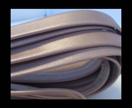 Buy NappaFlat-Metallic Baby Pink-10mm at wholesale prices