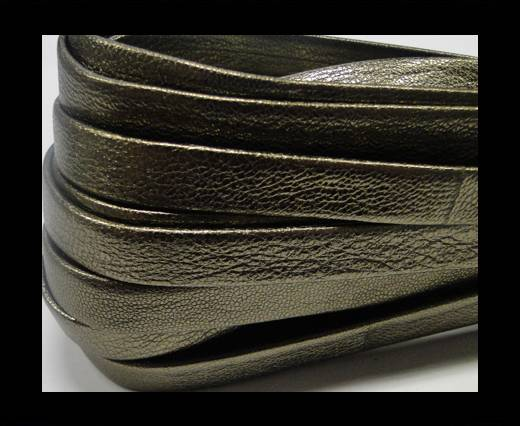 NappaFlat-Metallic Anthacrite-10mm