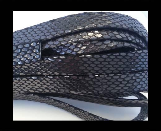 NappaFlat-Snake Style Metallic-10mm