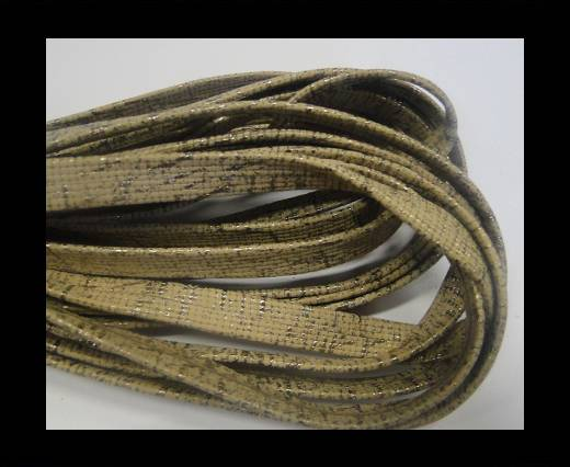 Buy NappaFlat-Snake Style-10mm-beige at wholesale prices