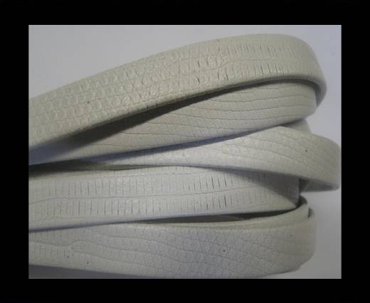 Buy NappaFlat-Snake Style-10mm-white at wholesale prices