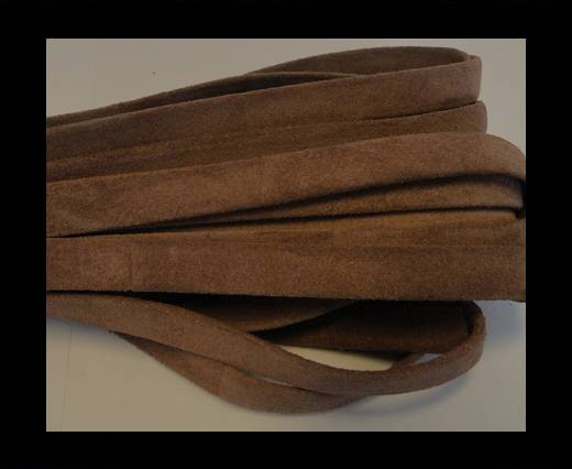 Buy NappaFlat-Suede-Light Brown-10mm at wholesale prices