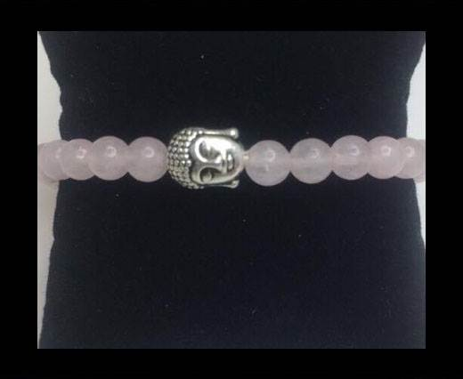 Buy Natural Stone Bracelet 16 Rose Quartz at wholesale prices