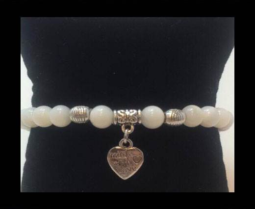 Buy Natural Stone Bracelet 13 Mother of pearl at wholesale prices