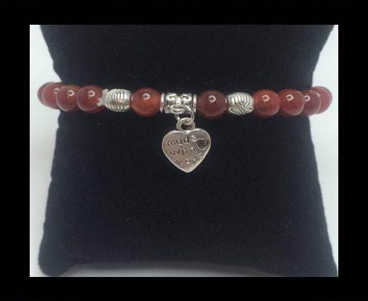 Buy Natural Stone Bracelet 11 Carnelian at wholesale prices