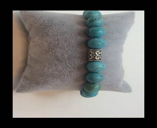 Buy Natural Stone Bracelet 2 Turquoise at wholesale prices