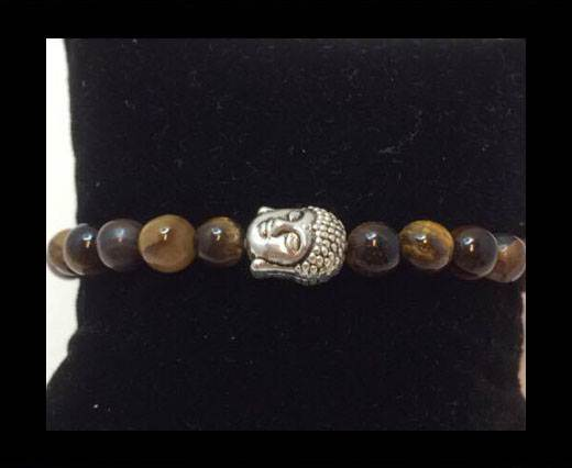 Buy Natural Stone Bracelet 5 Tigereye at wholesale prices