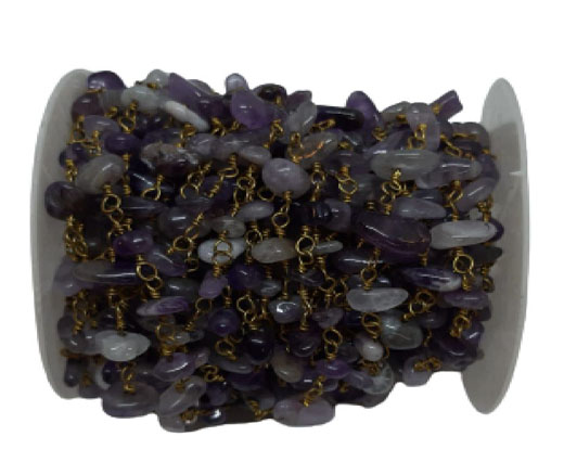 Natural stone in chain Colour 2