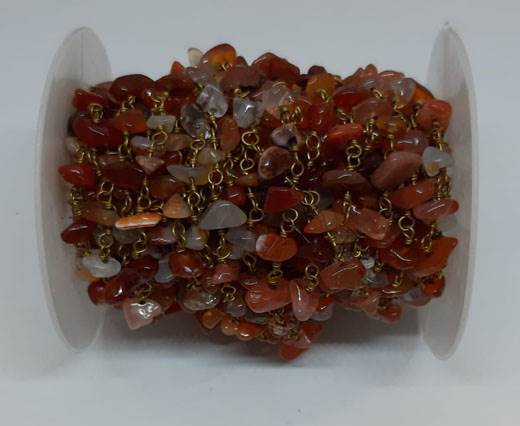 Natural stone in chain Colour 4
