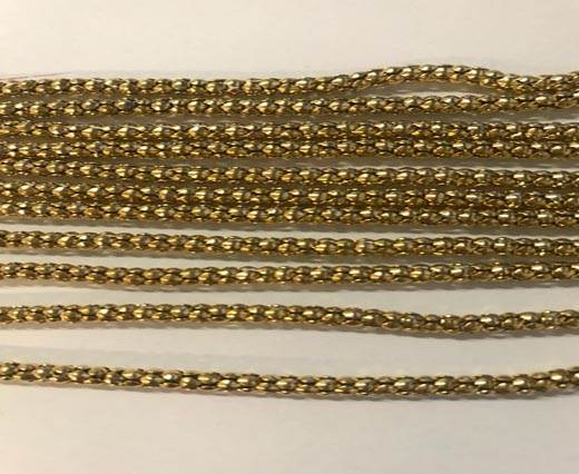 Steel Chain Item 11 3.2mm Gold