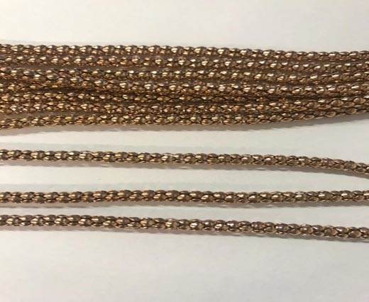 Buy Steel Chain Item 11 Rose Gold -3.2mm at wholesale prices