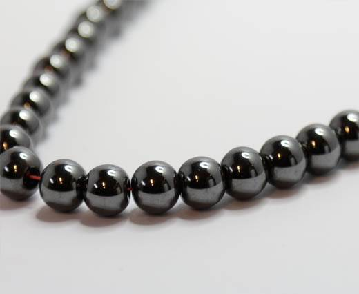 Natural Stones-8mm-Non Magnetic Hematite