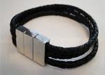 Non Steel Leather Bracelets MLBSP-1